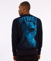 Pit Bull West Coast-Blue Eyed Devil IX Crewneck Bluza Granatowa