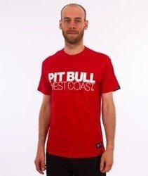 Pit Bull West Coast-TNT T-Shirt Red