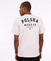 Polska Wersja-PW Godło T-Shirt Biały
