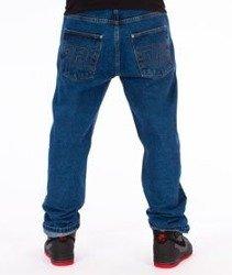 Prosto-Flavour Baggy Spodnie Jeans Blue