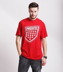 Prosto SHIELD XX T-Shirt Czerwony