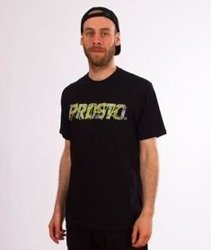 Prosto-Tag Wall T-Shirt Czarny