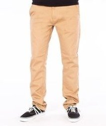 RocaWear-Non Denim Slim Fit Spodnie Khaki