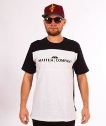 SB Maffija-Stripe T-Shirt Biały