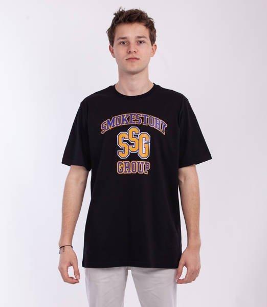 Smoke Story COLLEGE T-Shirt Czarny