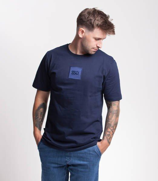 Smoke Story SQUARE T-Shirt Granatowy
