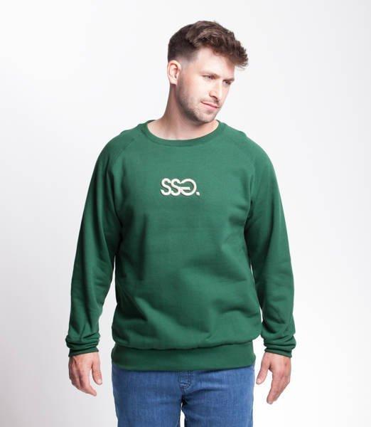 Smoke Story SSG 3D EFFECT Bluza bez kaptura ciemny Zielony