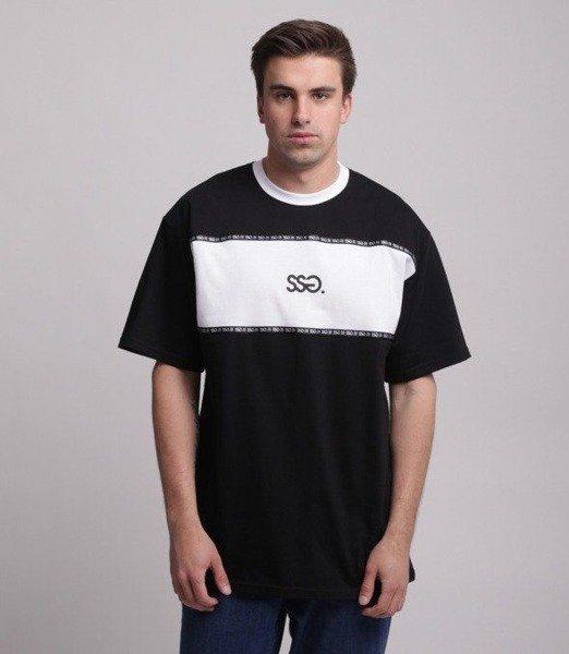 SmokeStory-Belt Classic T-Shirt Czarny