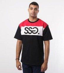 SmokeStory-Colors T-Shirt Czarny/Czerwony