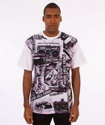 SmokeStory-Full Music T-Shirt Biały/Multikolor