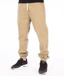 SmokeStory-Jogger Regular Spodnie Beżowe