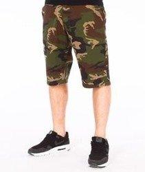 SmokeStory-Moro Spodnie Krótkie Slim Camo