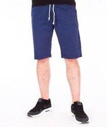 SmokeStory-Szorty Chino Guma Krótkie Spodnie Niebieskie