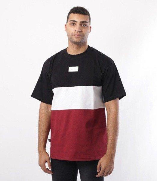 SmokeStory-Three Colors T-Shirt Czarny