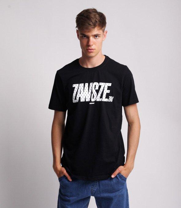 Stoprocent TMR ZAWSZE ZA T-Shirt Czarny