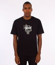 Stussy-Big Cities T-Shirt Black