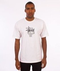 Stussy-Big Cities T-Shirt White