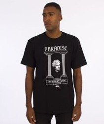 Stussy-Paradise T-Shirt Czarny