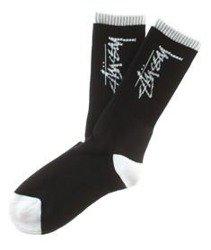 Stussy-Stock Socks Skarpetki Black