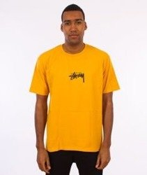 Stussy-Stock T-Shirt Mustard
