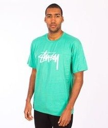 Stussy-Stock Tee Green