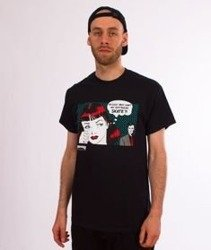 Thrasher-New Boyfriend T-Shirt Czarny