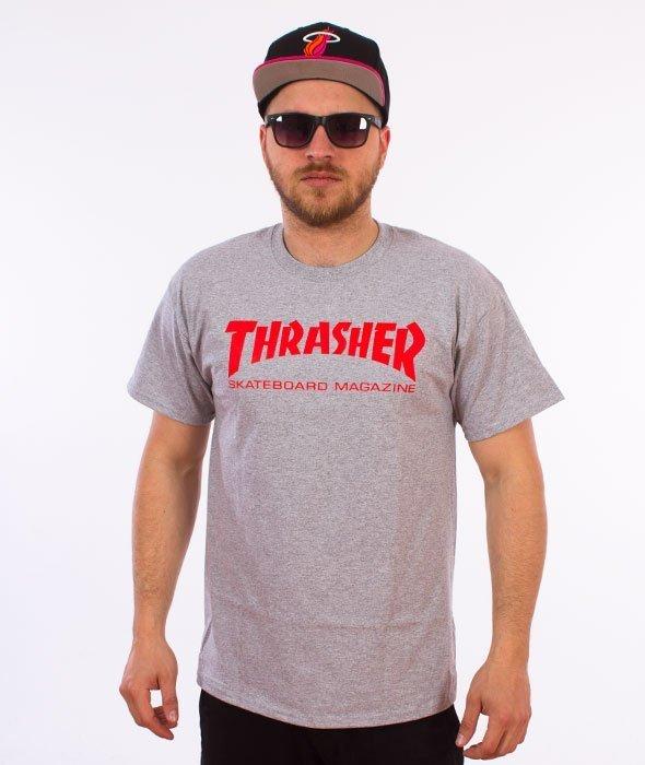 Thrasher-Skate Mag T-Shirt Szary