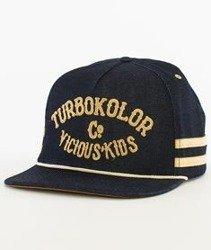 Turbokolor-Beerbelly Snapback Czapka Granatowa