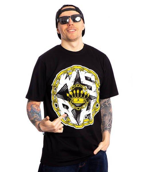 WSRH CHAIN T-Shirt Czarny