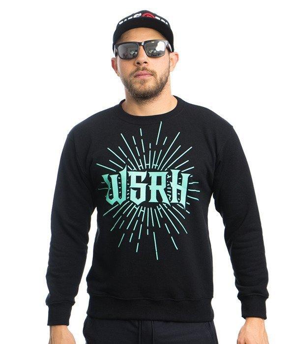 WSRH FLASH Bluza bez kaptura Czarny