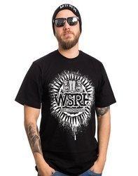 WSRH SŁOŃCE t-shirt czarny/biały