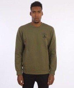 Carhartt-Artillery Sweatshirt Cotton Rover Green/Black