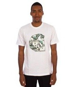 Carhartt-Bill C T-Shirt White