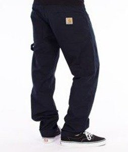 Carhartt-Fort Pants Spodnie Navy Rigid Straight Leg L32