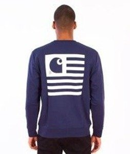 Carhartt-State Flag Sweat Blue/White
