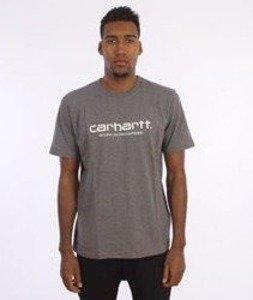Carhartt-Wip Script T-Shirt  Dark Grey Heather