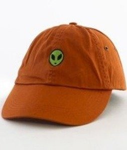 Hype-Alien Dad Hat Czapka Z Daszkiem Orange