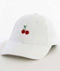 Hype-Cherry Dad Hat Czapka Z Daszkiem White