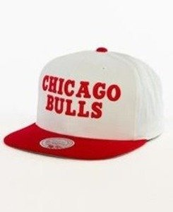 Mitchell & Ness-Chicago Bulls Snapback EU956 White/Red
