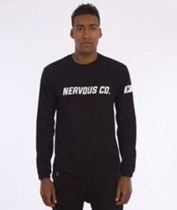 Nervous-CO. Fa16 Longsleeve Czarny