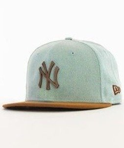 New Era-Mettalic Rust New York Yankees Fitted Cap Neyyan