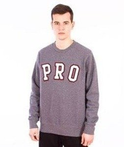 Prosto-Like A Pro Bluza Medium Heather Gray