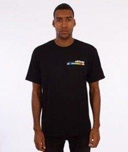 Stussy-Color Bar T-Shirt Czarny