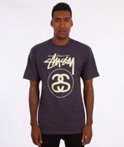 Stussy-Stock Link T-Shirt Midnight