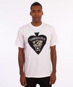 Turbokolor-Spades T-Shirt Biały