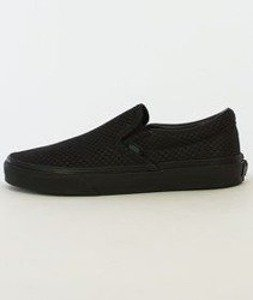 Vans-Classic Slip On + (Snake Leather) Black