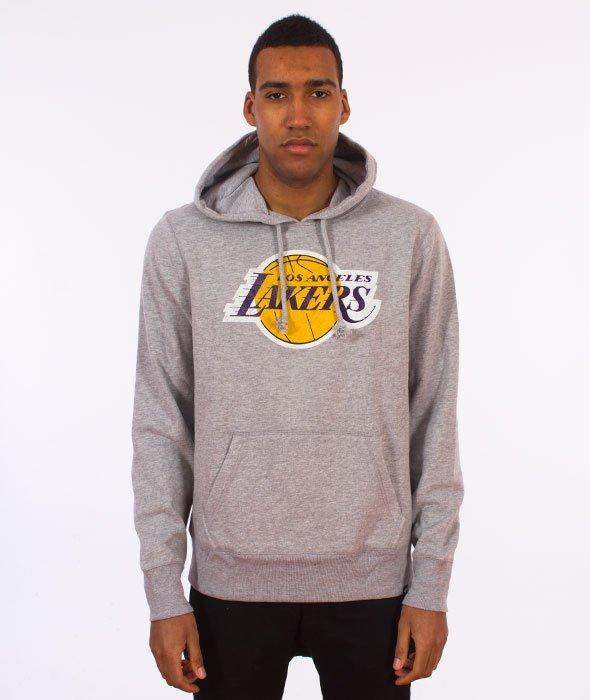 84c7ee9732687f 47 Brand-Los Angeles Lakers Bluza Kaptur Szary - najlepsza cena ...