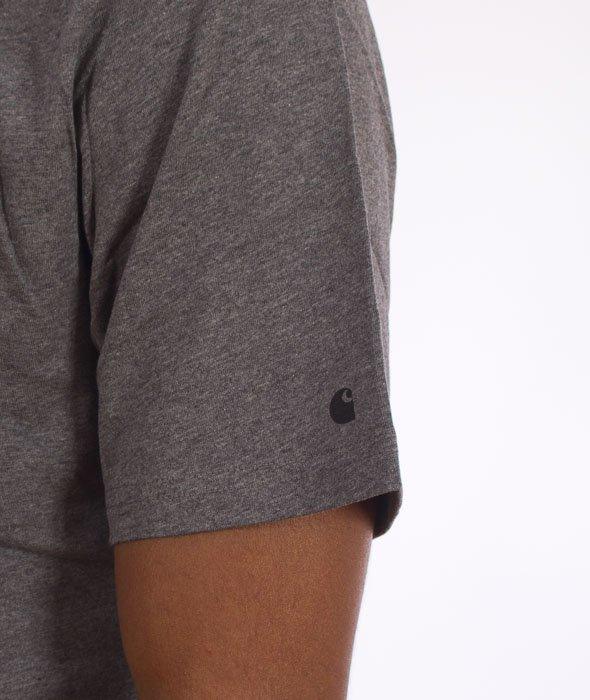 Carhartt-Base T-Shirt Dark Grey Heather