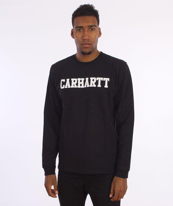 Carhartt-College Longsleeve Black/White