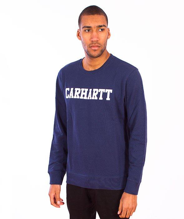 Carhartt-College Sweet Blue/White